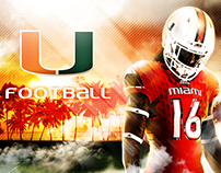 Miami Hurricanes Recruit Visit Guide Covers