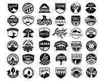 36 emblems