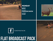 Flat Broadcast Pack, After Effects Templates
