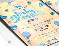 Baby Shower Ideas Flyer - PSD Template