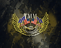 The Minutemen Militia 3D Battlefield Platoon Emblem