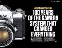 N-Photo Magazine: Layout Design, Typography