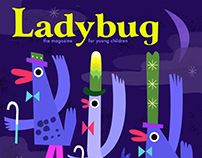 Ladybug Magazine Mock Cover