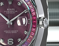 Rolex Pearlmaster 39 Sapphire 3d model
