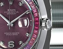 Rolex Pearlmaster 39 Sapphire 3d model