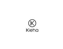 kieha studio brand identity