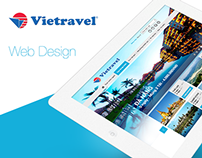 Web Design - Vietravel ( Redesign )