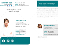 800 Email Signatures Template Designs with HTML