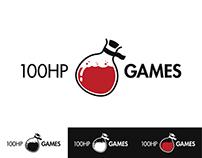 100HP Games - Logo Design