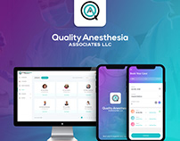 Anesthesia mobile application and dashboard design