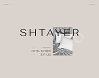 Shtayer website design