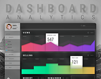 UI. ADMIN DASHBOARD ANALYTICS.