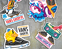 Vans Shop stickers