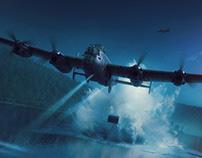 Hong Kong Models Avro Type 464 Lancaster - Dambuster