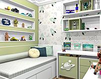 Quarto Infantil - 3D
