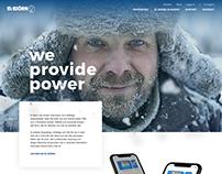 El-björn - Web design