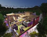Eco Green villas in Egyptian desert