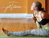 Jill Vitamin Leggings Logo