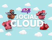 """SOCIAL CLOUD """"SOCIAL MEDIA PROJECT"""""""