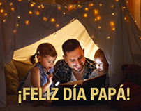 Project: Father´s day promo for Grupo Cever