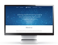 Meson Capital website design