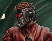 Star Lord (Guardian of the Galaxy). Study from photo