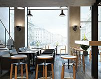 Le Corbusier caffe
