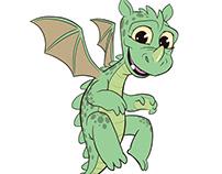 Fresco: Baby Dragon