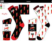 STRONG STEVE - socks design concept for DRK