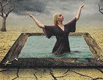 Rain effect | Photoshop tutorial | Photo manipulation |