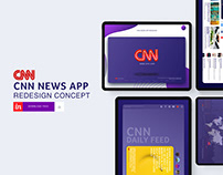 CNN News App- Redesign Concept