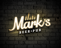 Mark's - Logo Design