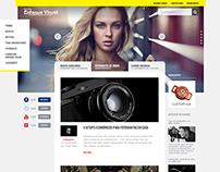 Revista enfoque visual • webdesign