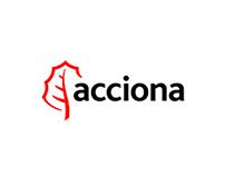 Adaptación a móvil del sitio corporativo de Acciona