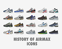 History of Airmax Icons