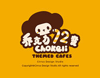 Chokeli coffee  theme visual VI brand