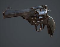 Webley mark V revolver