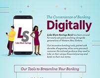 Digital Banking Infographic