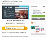 Stuff Rentals WordPress Theme