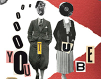 Affiche Youtube style Dada