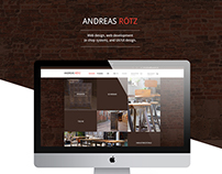 Andreas Roetz web design and web development