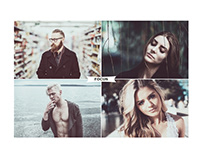 4 IN 1 Bundle Photoshop Actions