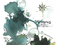 Map of Westeros & the free cities