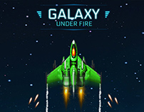 Galaxy Under Fire Game Promotional Graphics