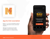 Naij Report - App for civil journalism
