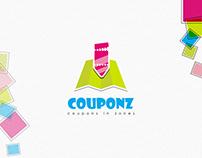 COUPONZ branding