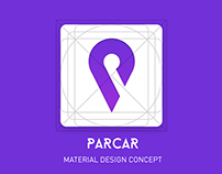 Parcar - Material design concept for parking cars