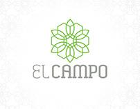 EL CAMPO Restaurant Logo Concept