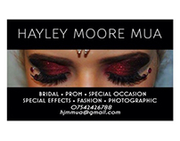 Business card design for local MUA