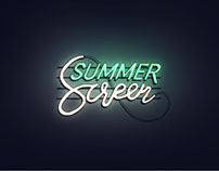 Summer Screen Festival Visual Identity & Teaser